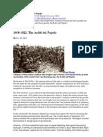 1918-1922- The Arditi Del Popolo