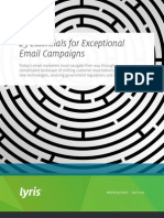 25 Essentials for Exceptional Email Campaigns US