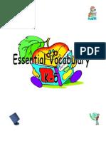 Essential Vocab K 5