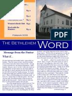 BCC Newsletter Feb 09