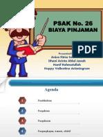 PPT PSAK 26 BiayaPinjaman 17.10.2012
