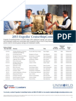 ECSC Uniworld 2013 Amenity Dates