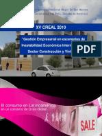 Gestión Empresarial en escenarios de Inestabilidad Económica Internacional