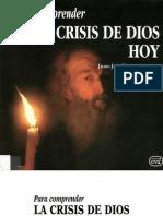 Tamayo Acosta Juan Jose Para Comprender La Crisis de Dios Hoy