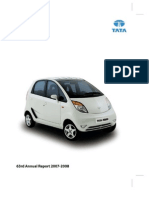 Tata motors Annual Report 2007 08