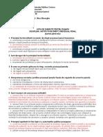 Filehost Institutii de Drept Procesual Penal Partea I Si Partea II ( 156+133 )