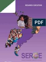 UNESCO Executive Summary of 2006 Education Study  (Español)