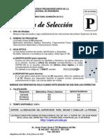 Prueba Seleccion Pre 2012-2