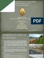 PANTALLAS ACÚSTICAS EN CARRETERAS