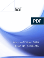 Guía de Microsoft Office Word 2010