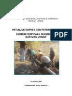 Petunjuk Survei dan Perencanaan Sistem Perpipaan Sederhana