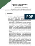 Informe Veronika Mendoza
