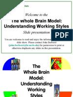 Brain Model Ned Hermann