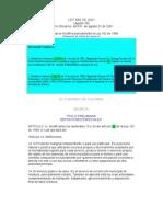 lEY 689 2001 Contratacion Serv Publicos