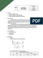 Job Sheet 7 (Half Adder)