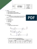Job Sheet 8 (Full Adder)