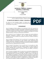 Resolucion 1402 de 2006 Mavdt