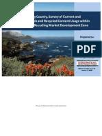 Monterey County Feedstock Report