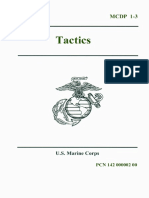 United States Marine Mcdp 1-3-30 July 1997 Tactics