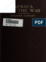 Benjamin Griffith Brawley--Africa and the War (1918)