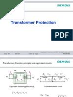 Transformer Protection - SIEMENS