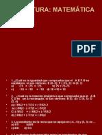 Cuestionario Paes Matematicas