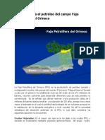 Opciones Para el Petroleo de la Faja Petrolifera del Orinoco