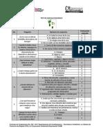 Test Huella Ecologica