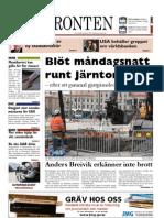 Västfronten 17 april 2012