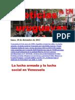 Noticias Uruguayas Lunes 10 de Diciembre Del 2012