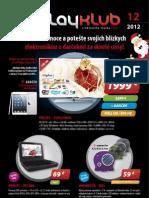 Leták PlayKlub 12/2012