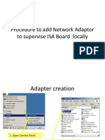 Supervise ISA Locally