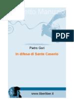 In Difesa Di Sante Caserio Di Pietro Gori