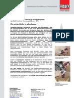 BESSEY Mutlitool DMT - Presseinformation