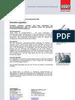 BESSEY Hochleistungszwinge SGM - Presseinformation