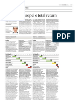 Tra bond europei e total return - Plus24, 08/12/12