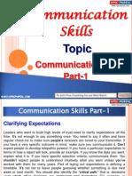 Communication Skills Part 1