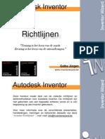Autodesk Inventor Richtlijnen