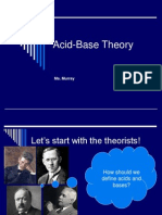 Acid Base Theory