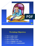 How to Read and Write a Paper 2003