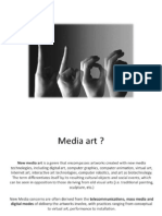 Media art / Workshop