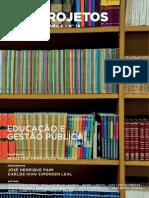 Cadernos FGV Projetos nº 16 - Educação e Gestão Pública
