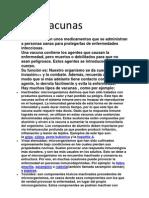 Trabajo de C.M Las Vacunas