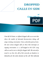 RF Dropped Calls (GSM)