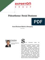 Experton Group Fokusthema Social Businesst; Social-Business-Markt in Bewegung