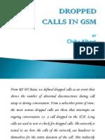 RF Dropped Calls (GSM) by Chika Albert