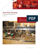 CSB Study TTU Explosion