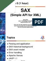 Sax, XML