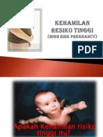 Penyuluhan Kehamilan Resiko Tinggi