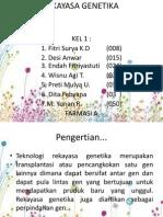 Kelompok 1 (Rekayasa Genetika)